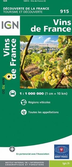 1M915 ; vins de France (3e édition)