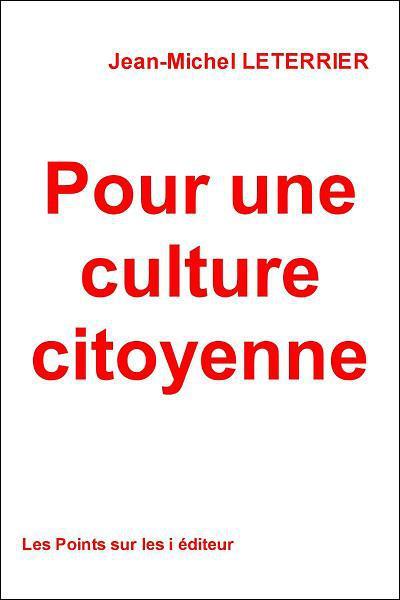Pour une culture citoyenne
