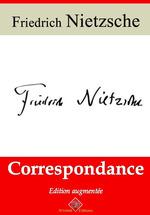 Vente Livre Numérique : Correspondance - suivi d'annexes  - Friedrich Nietzsche