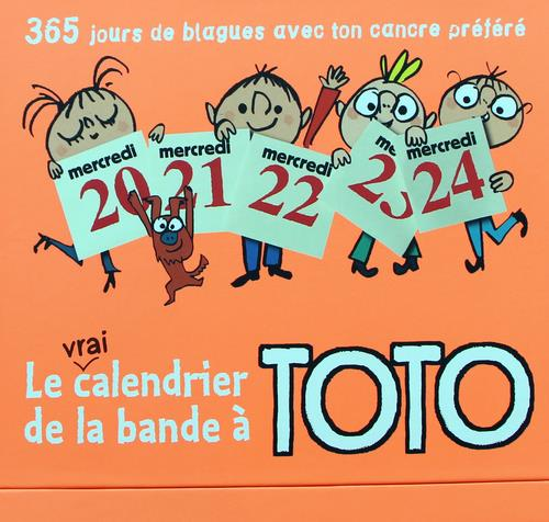Le calendrier de la bande à Toto