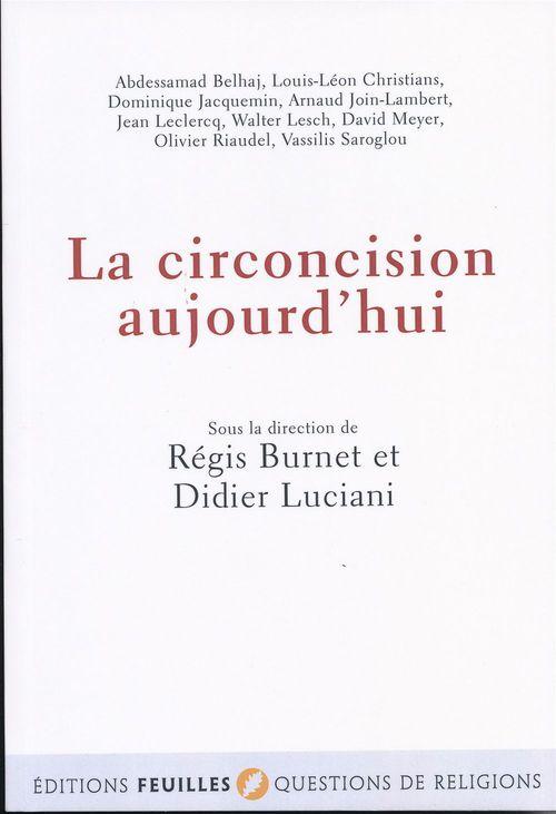 La circoncision aujourd'hui