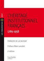 Héritage institutionnel français (2e édition)