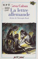Vente Livre Numérique : Lettre allemande (la)  - Christophe Rouil - Géva Caban