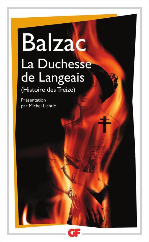 La duchesse de Langeais ; histoire des treize