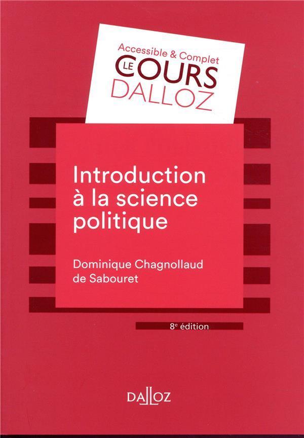 Introduction à la science politique (8e édition)