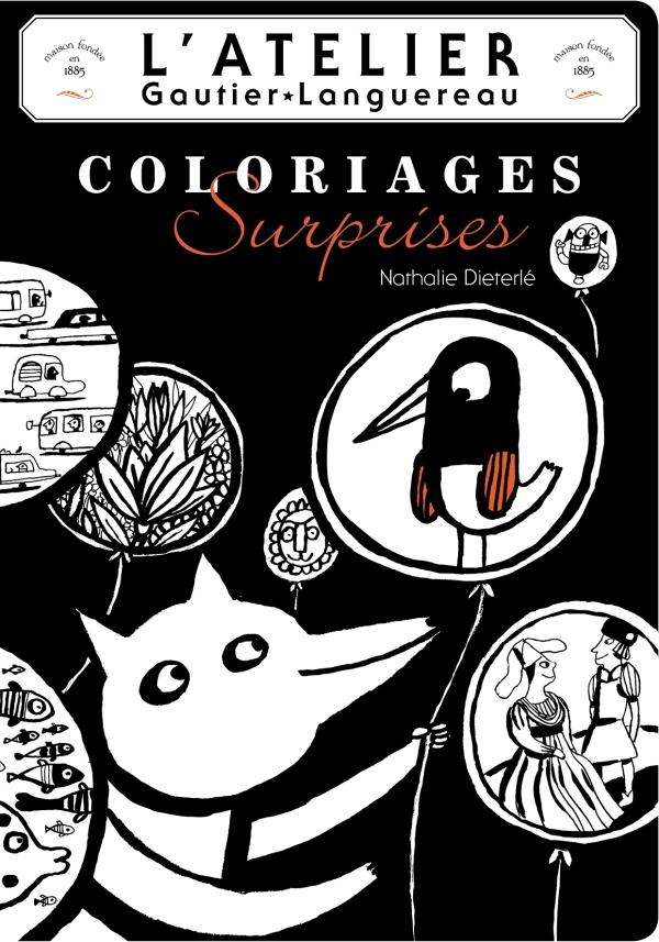 Coloriages surprises