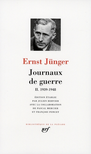 JUNGER, ERNST - JOURNAUX DE GUERRE (TOME 2-1939-1948)