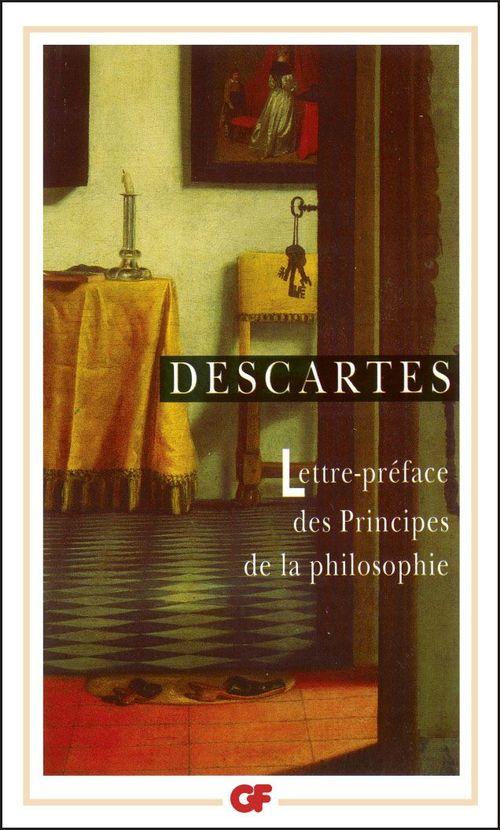 Lettre-préface des Principes de la philosophie