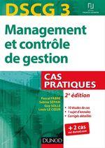 Vente EBooks : DSCG 3 - Management et contrôle de gestion - 2e éd  - Sabine Sépari - Pascal Fabre - Guy Solle
