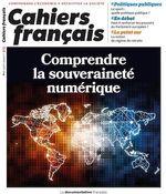 Vente Livre Numérique : Cahiers français : Comprendre la souveraineté numérique - n°415  - La Documentation française