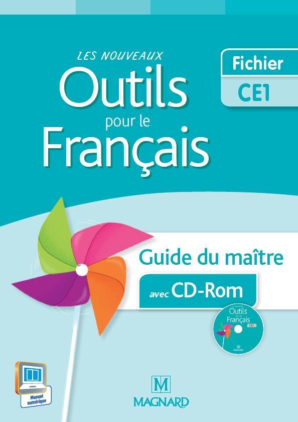 Les Nouveaux Outils Pour Le Francais Ce1 Guide Du Maitre Avec Cd Rom Edition 2015 Sylvie Aminta Nadia Poure Magnard Livre Cd Rom