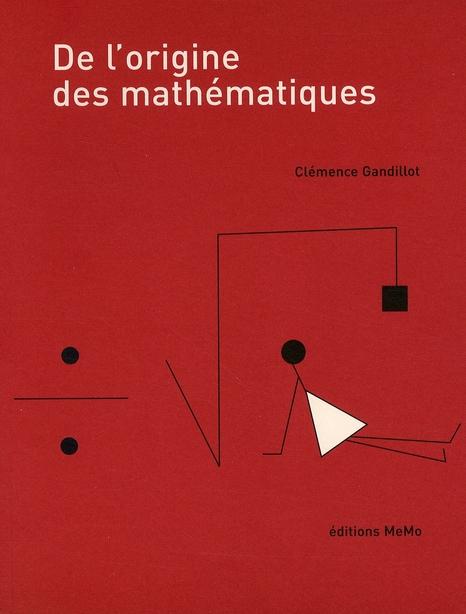 De l'origine des mathématiques