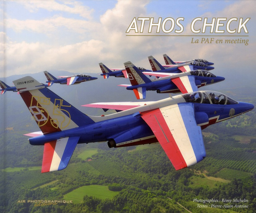 Athos Check ; la patrouille de France en meeting