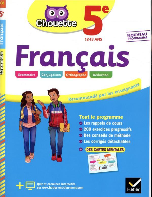- CHOUETTE ENTRAINEMENT T.8  -  FRANCAIS  -  5E  -  CAHIER D'ENTRAINEMENT ET DE REVISION