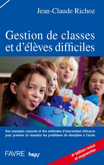 Gestion De Classes Et D'Eleves Difficiles