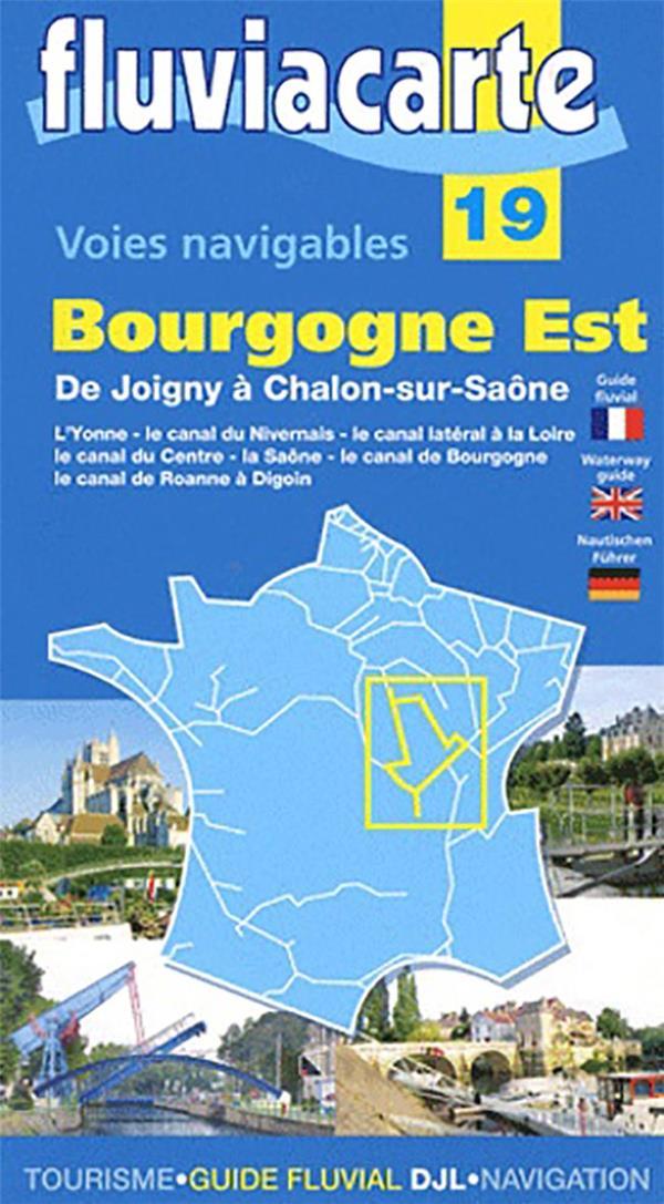 Voies navigables - bourgogne est - de joigny a chalon sur saone - 19