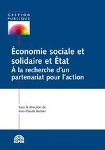 Économie sociale et solidaire et État  - Jean-Claude BARBIER