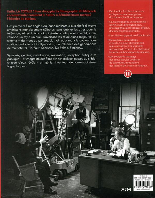 La totale ; Hitchcock ; les 58 films et 20 épisodes TV expliqués