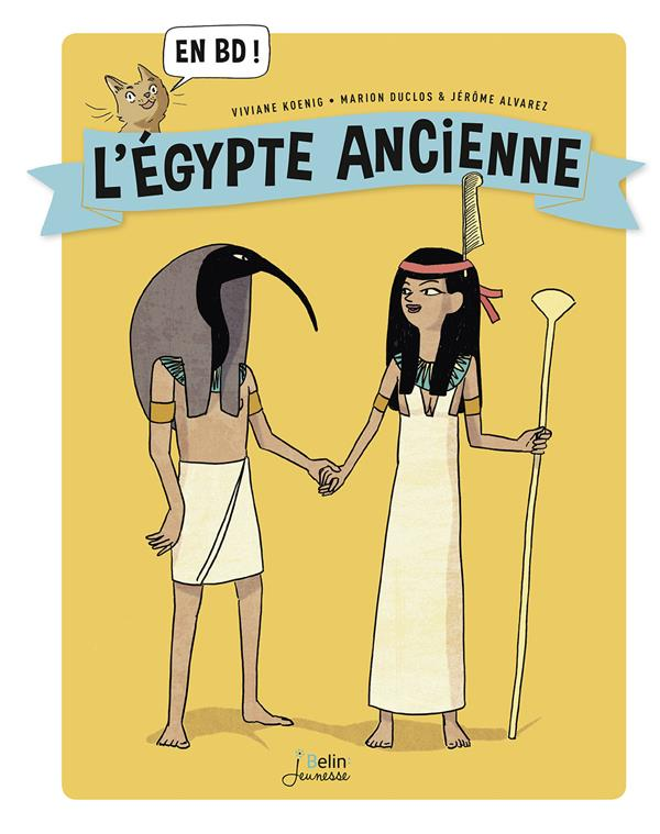 l'Egypte ancienne...en BD !