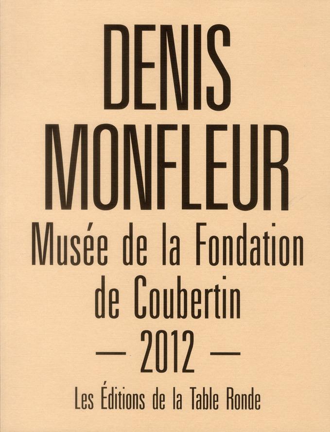 Denis Monfleur à la fondation de Coubertin