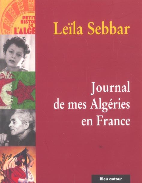 journal de mes Algeries en France