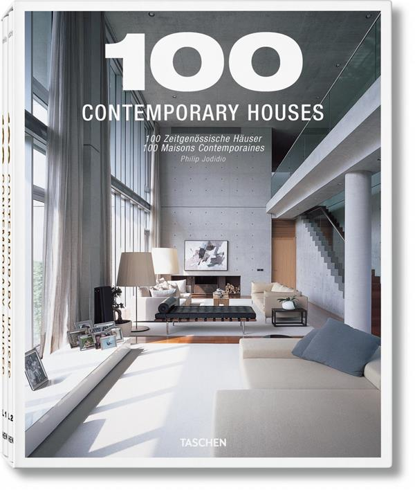 100 contemporary houses ; coffret