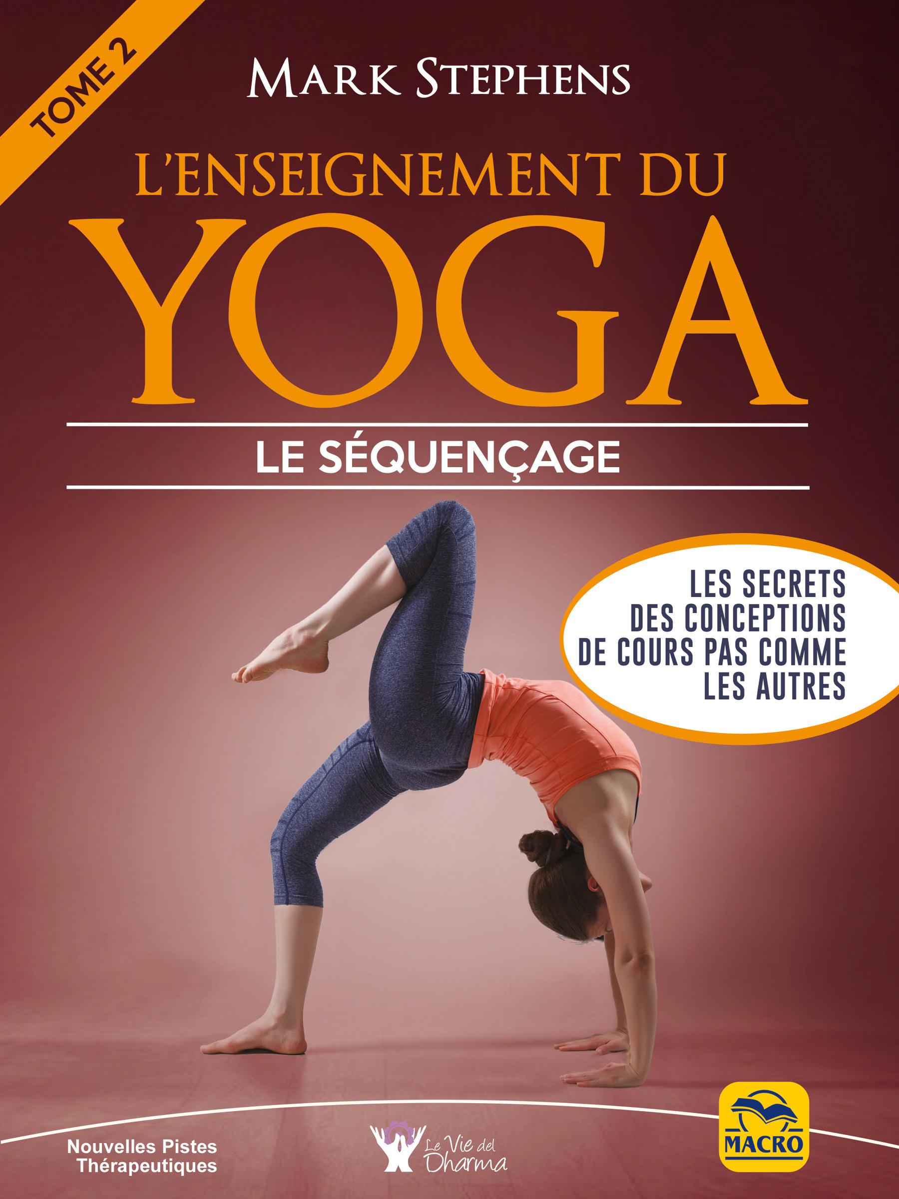 L'enseignement du yoga t.2 ; le séquencage