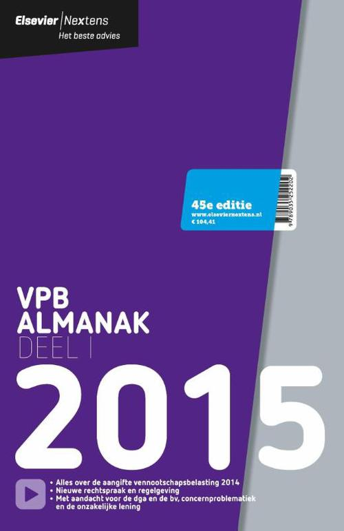 VPB almanak - 2015 deel 1