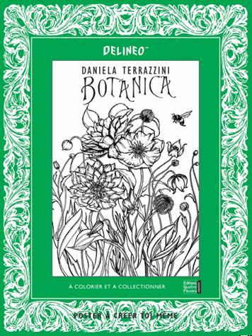 Botanica ; affiches à colorier