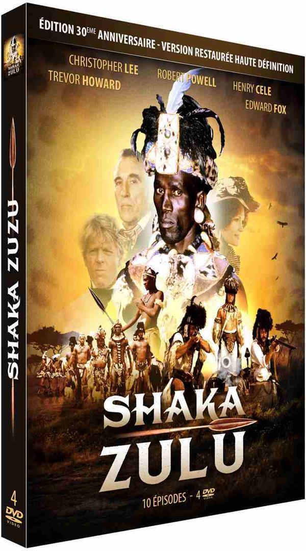coffret intégrale Shaka Zulu, 10 épisodes