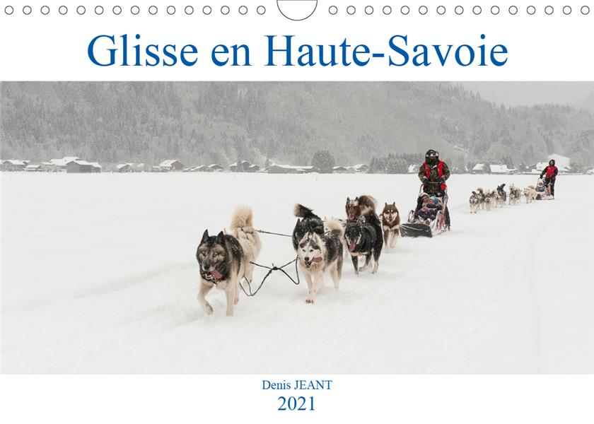 Course Camarguaise Calendrier 2021 Glisse en Haute Savoie (calendrier mural 2021 din a4 horizontal