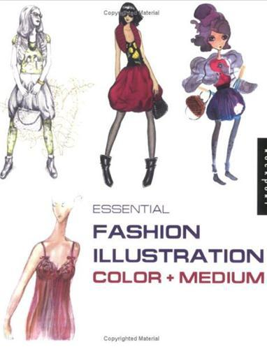 Essential Fashion Illustration Color /Anglais