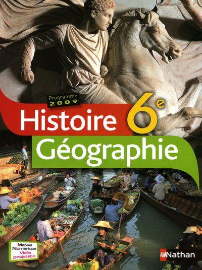 Histoire-Geographie 6e 2009 Manuel