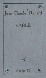 Vente Livre Numérique : Fable  - Jean-Claude RENARD