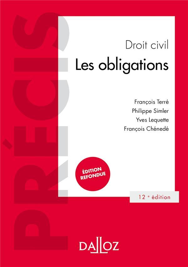 Droit civil ; les obligations (12e édition)