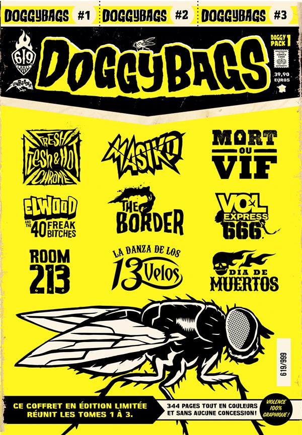 DoggyBags ; COFFRET VOL.1 ; T.1 A T.3