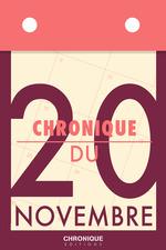 Vente EBooks : Chronique du 20 novembre  - Éditions Chronique