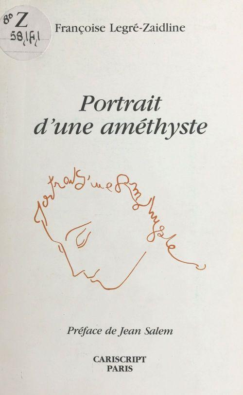 Portrait d'une amethyste