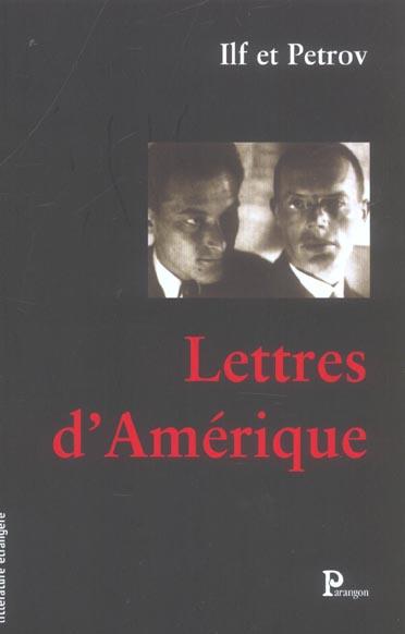 Lettres d'amerique