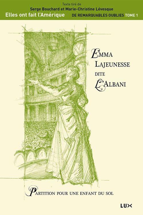 Emma Lajeunesse dite L´Albani