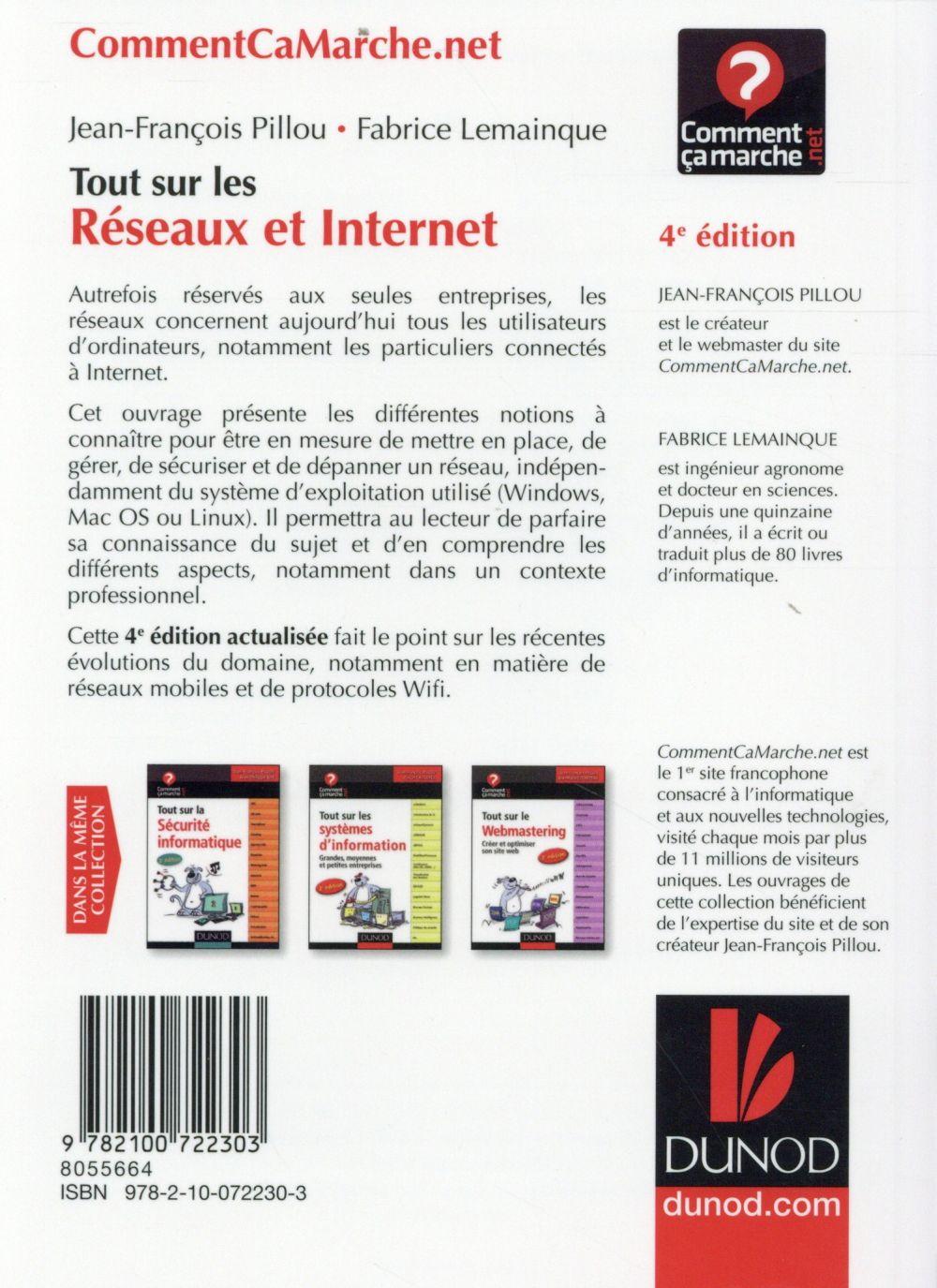 Tout sur les réseaux et internet (4e édition)
