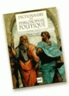 Le Dictionnaire De Philosophie Politique
