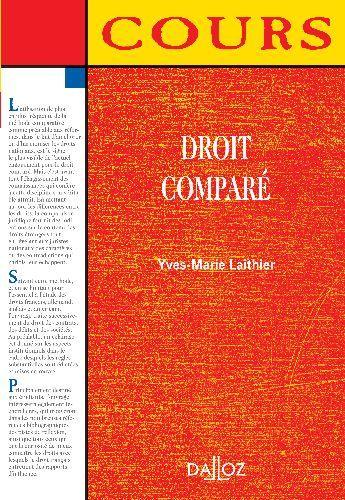 Droit Compare - 1ere Edition