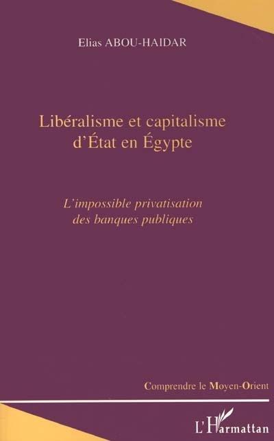 Liberalisme et capitalisme d'etat en egypte - l'impossible privatisation des banques publiques