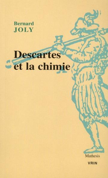 Descartes et la chimie