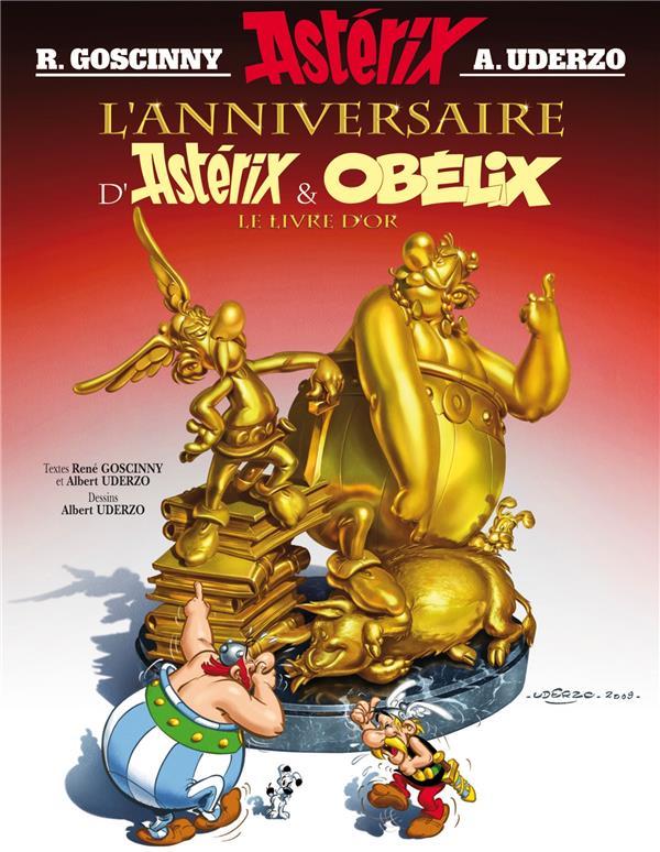 Astérix T.34 ; l'anniversaire d'Astérix et Obélix