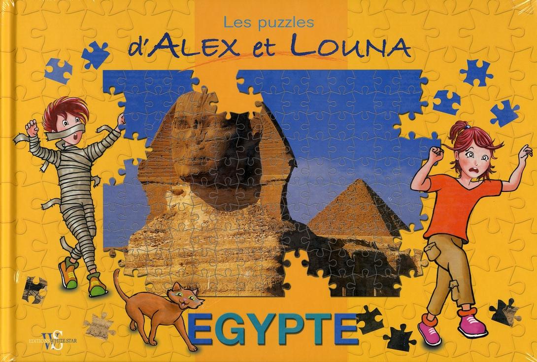 Les puzzles d'Alex et Louna ; Egypte