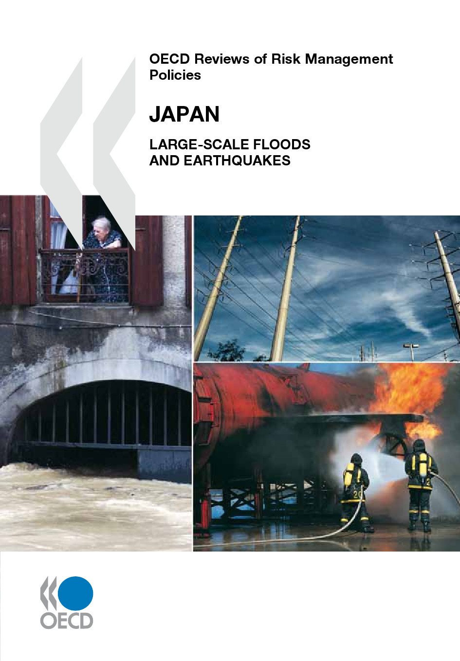 OECD reviews of risk management policies ; Japan ; large-scale floods and earthquakes