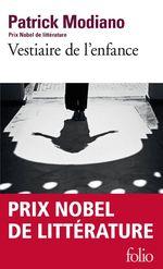 Vente Livre Numérique : Vestiaire de l'enfance  - Patrick Modiano