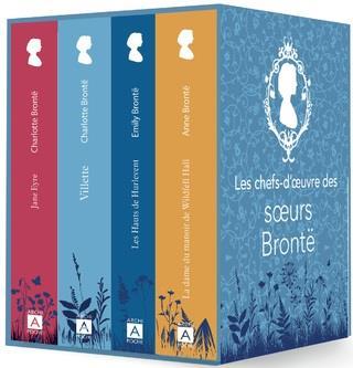 Les chefs-d'oeuvre des soeurs Brontë ; les hauts de hurlevent, la dame du manoir de Wildfell, Villette, Jane Eyre
